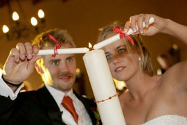 Other ceremonies can be added to your wedding, such as the Candle Ceremony