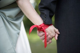 Consider a ribbon binding ceremony as an optional extra to your Gold Coast Wedding