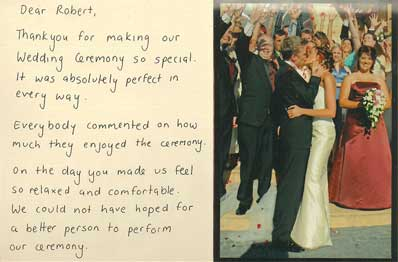 Fiona and Deveron Wedding Testimonial