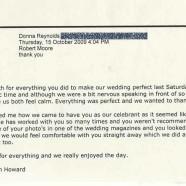 Donna and Nathan's Wedding